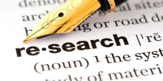 كتابة الورقة البحثية