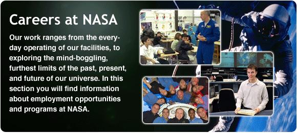 وظائف وكالة ناسا الفضائية