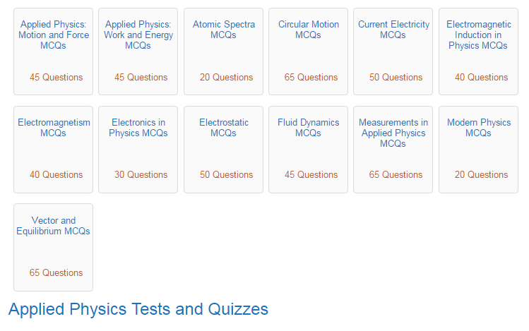 physics mcq3