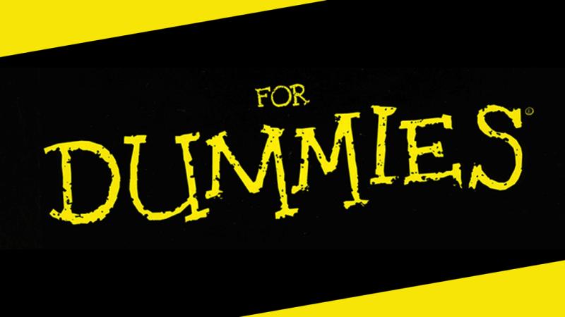 سلسلة كتب للمبتدئين For Dummies Series