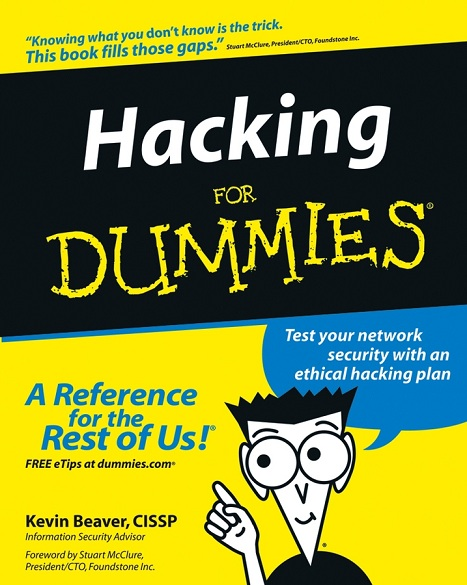 كتاب Hacking for Dummies