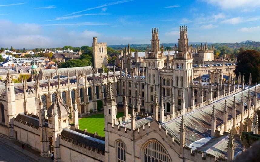 الكورسات المفتوحة من جامعة أوكسفورد