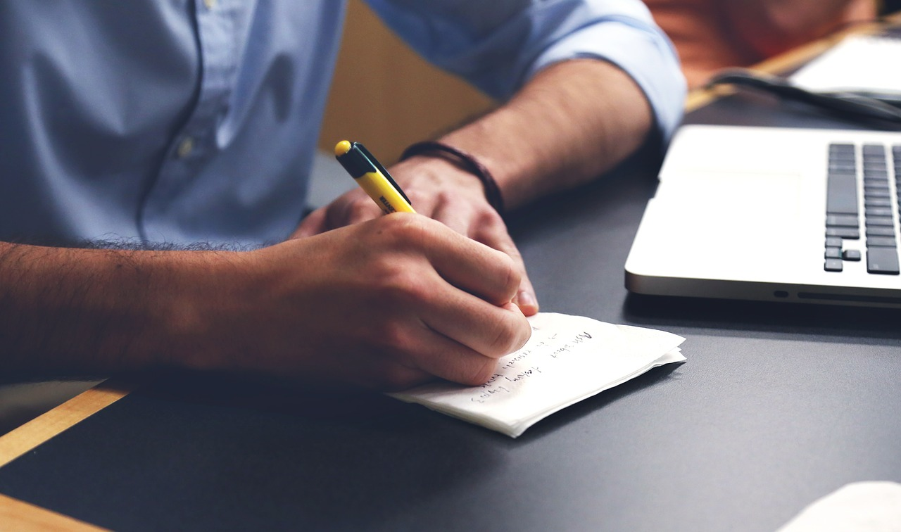 تعلم الكتابة من الصفر