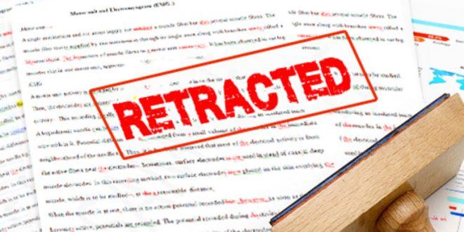 retracted paper